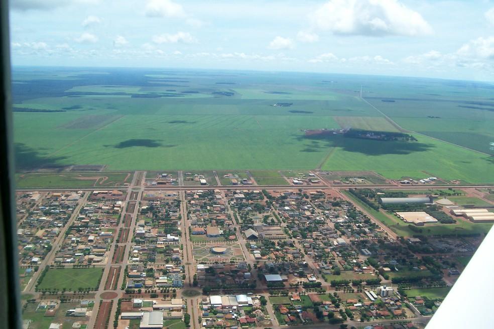 Sapezal tem o agronegócio como base da economia — Foto: Arquivo pessoal/ Sedtur-MT