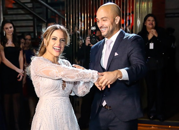 Camilla Camargo e Leonardo Lessa (Foto: Manuela Scarpa/Brazil News)