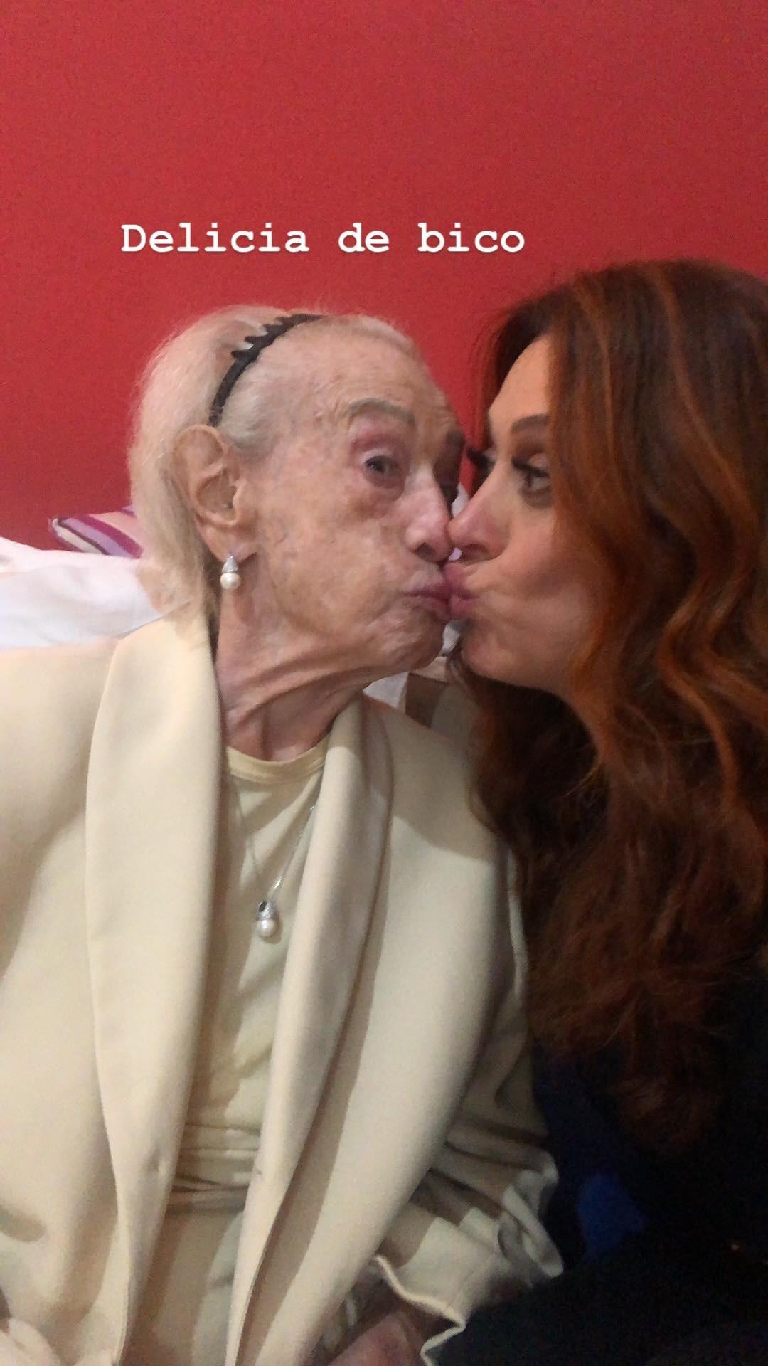 Claudia Raia e sua mãe  (Foto: Reprodução / Instagram)