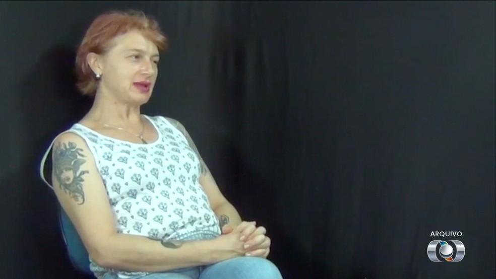 Daniele Lustosa foi assassinada em Palmas (Foto: Reprodução/TV Anhanguera)