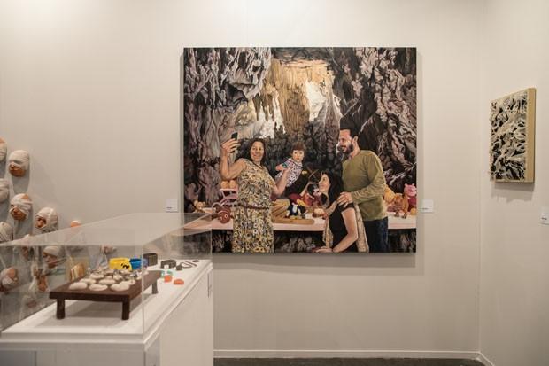 Belas Artes apresenta trabalhos de alunos durante a SP-Arte 2018 (Foto: Deco Cury)