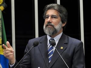 O senador Valdir Raupp (Foto: Geraldo Magela / Agência Senado)
