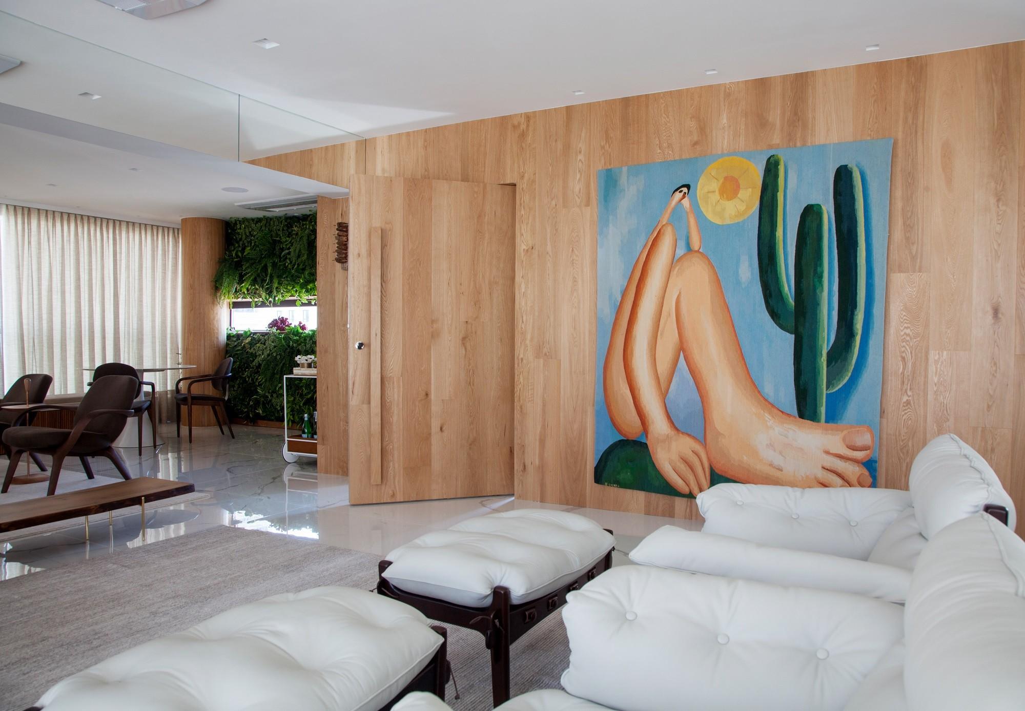 23 projetos incríveis com portas mimetizadas (Foto: Zé Gabriel Lindoso/Divulgação)