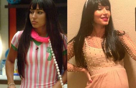 """Rival de Grazi no """"BBB"""" 5, Natália Prada teve 88% dos votos para sair. Hoje, é cantora gospel e está grávida do segundo filho Reprodução"""