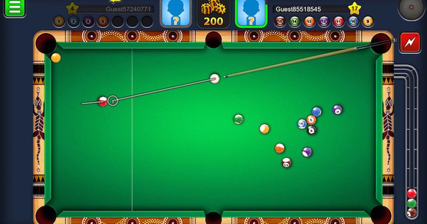 cách chơi 8 ball pool trên facebook
