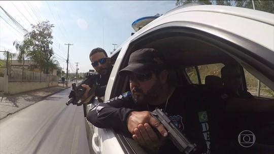 Polícia de MT cumpre 45 mandados de prisão e prende 6 em flagrante por roubo e furto de carros a mando de presidiários
