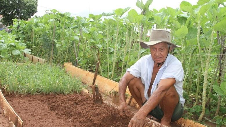 agricultor_cego_birigui_1 (Foto: Tiago Lotto)