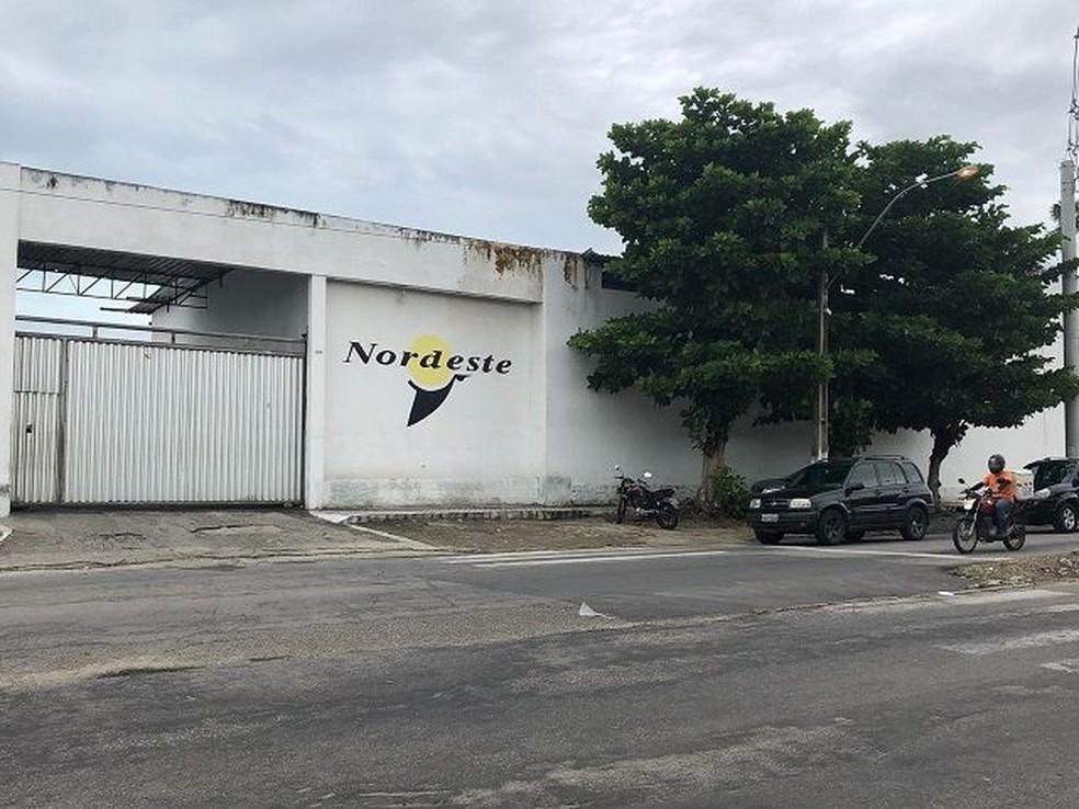 Garagem da Viação Nordeste está entre os itens que irão a leilão  (Foto: Divulgação/Lance Certo Leilões )