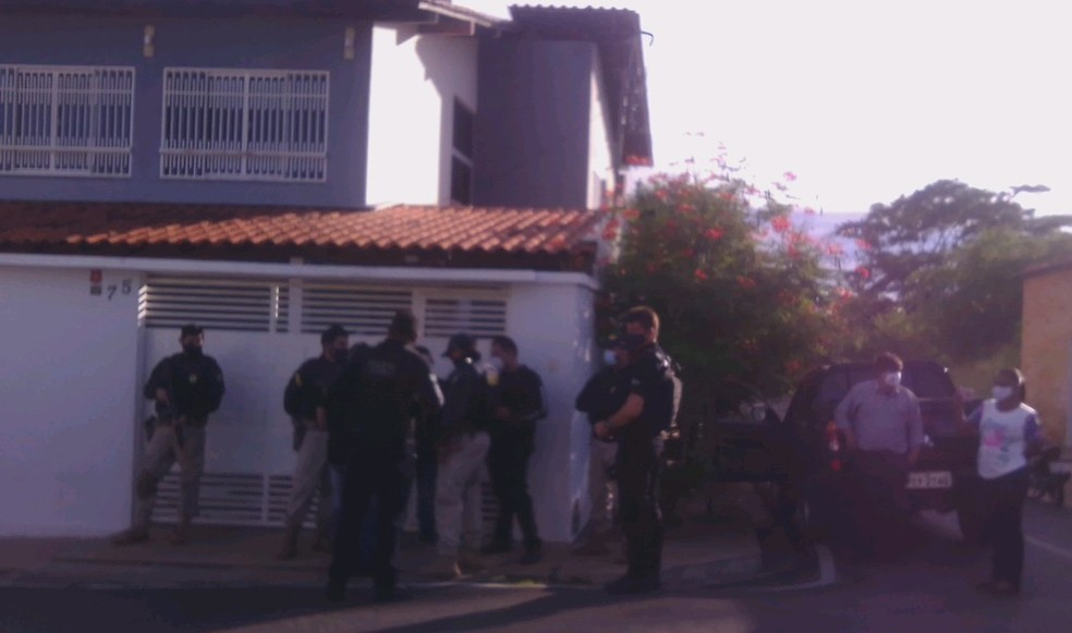 Polícia Civil e Polícia Federal auxiliam em operação no Piauí  — Foto: Reprodução/Polícia Civil
