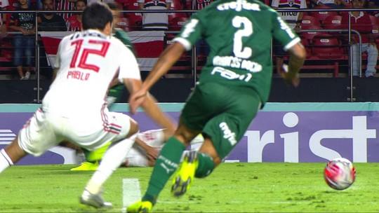 Pablo pode voltar a jogar pelo São Paulo só depois da parada para a Copa América