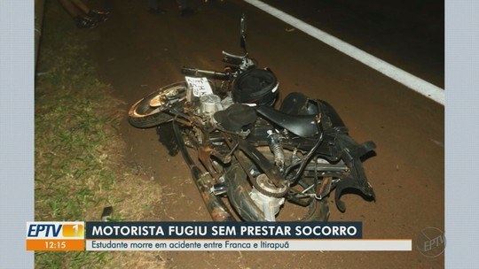 Estudante morre em acidente envolvendo 4 veículos em rodovia de Itirapuã, SP