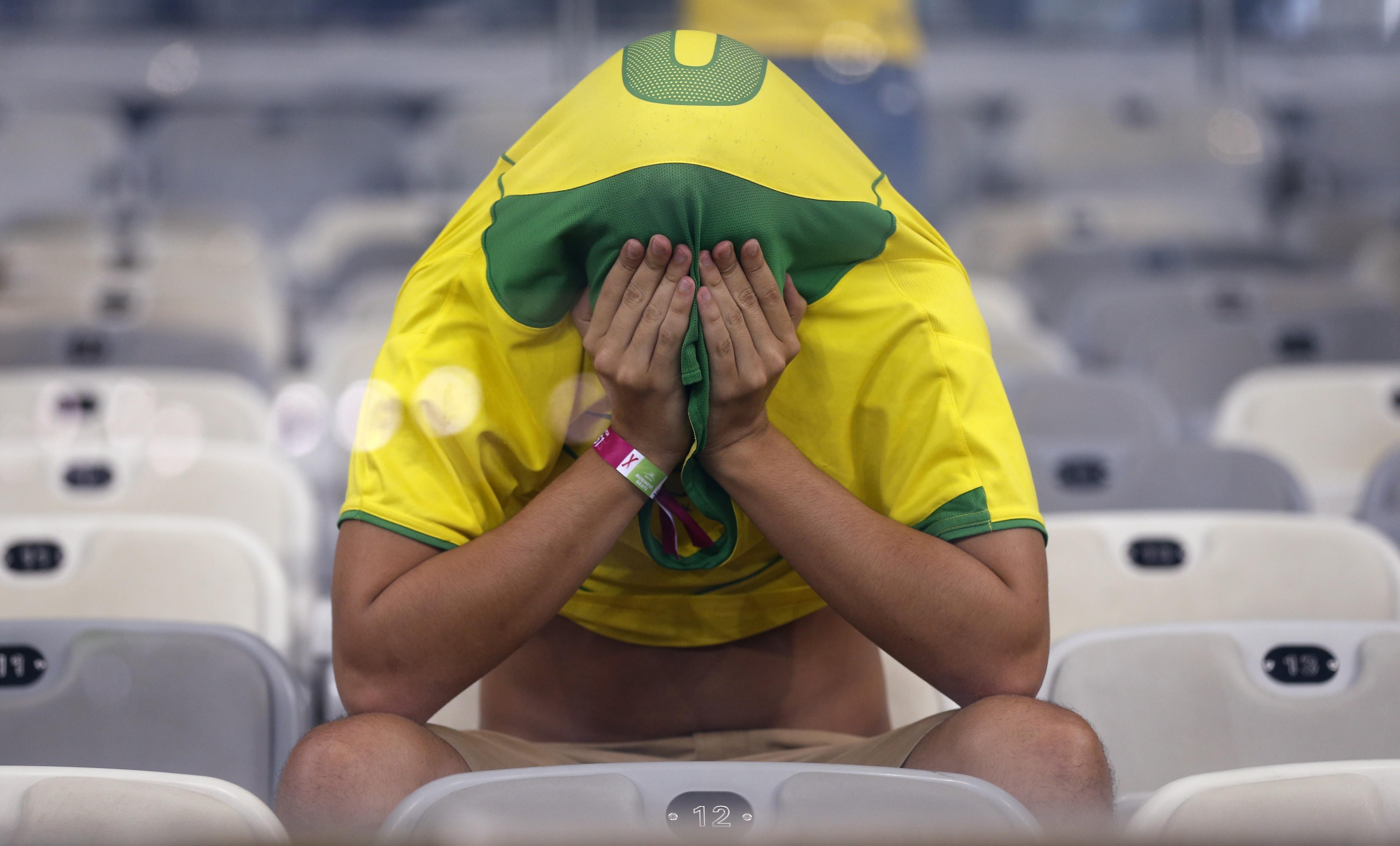 Brasileiro após o 7x1 para a Alemanha