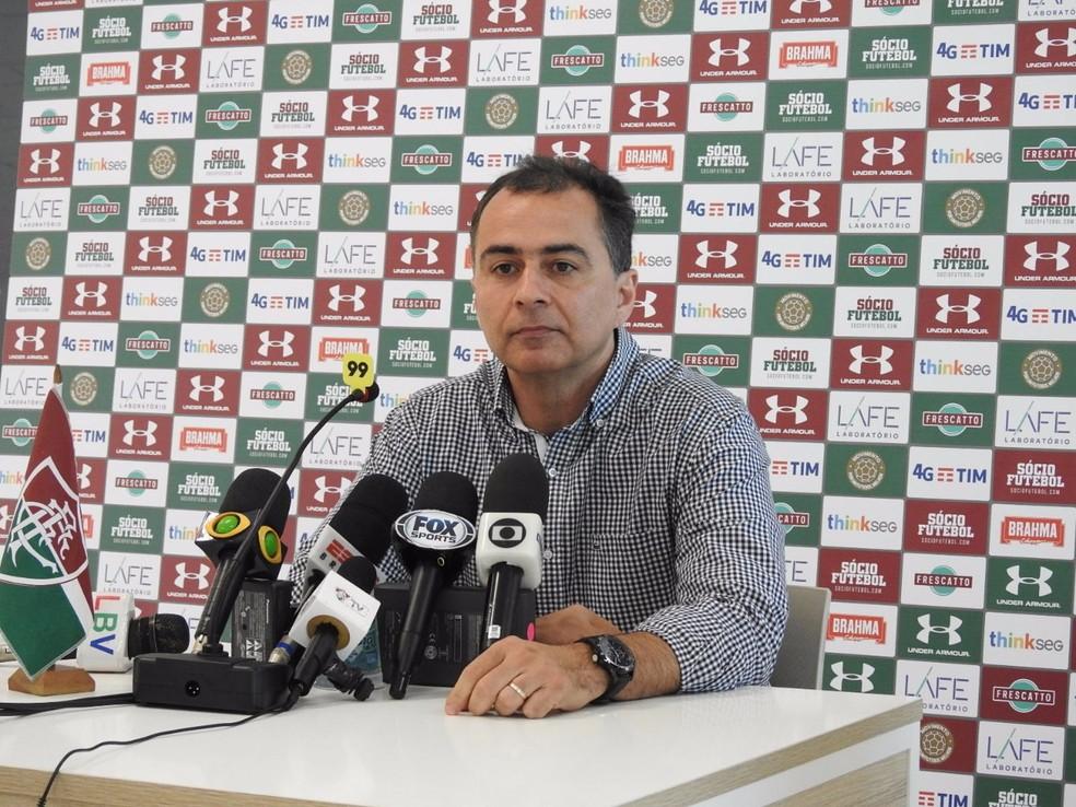 Fernando Veiga não é mais vice-presidente do Fluminense (Foto: hector werlang)