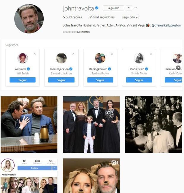 John Travolta (Foto: Reprodução/Instagram)