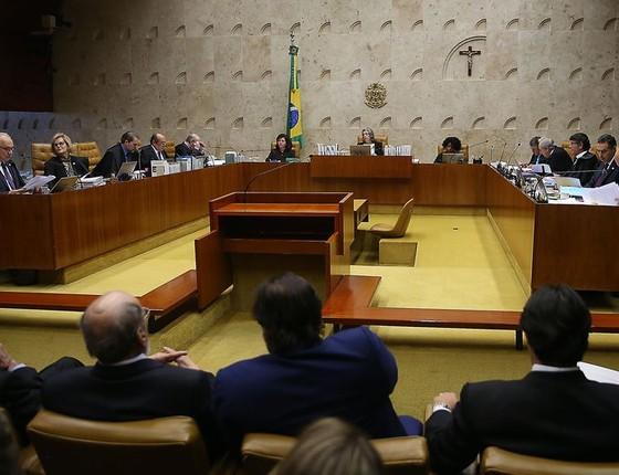 Supremo Tribunal Federal julga pedido de habeas corpus do ex-presidente Lula  (Foto: José Cruz/Agência Brasil)