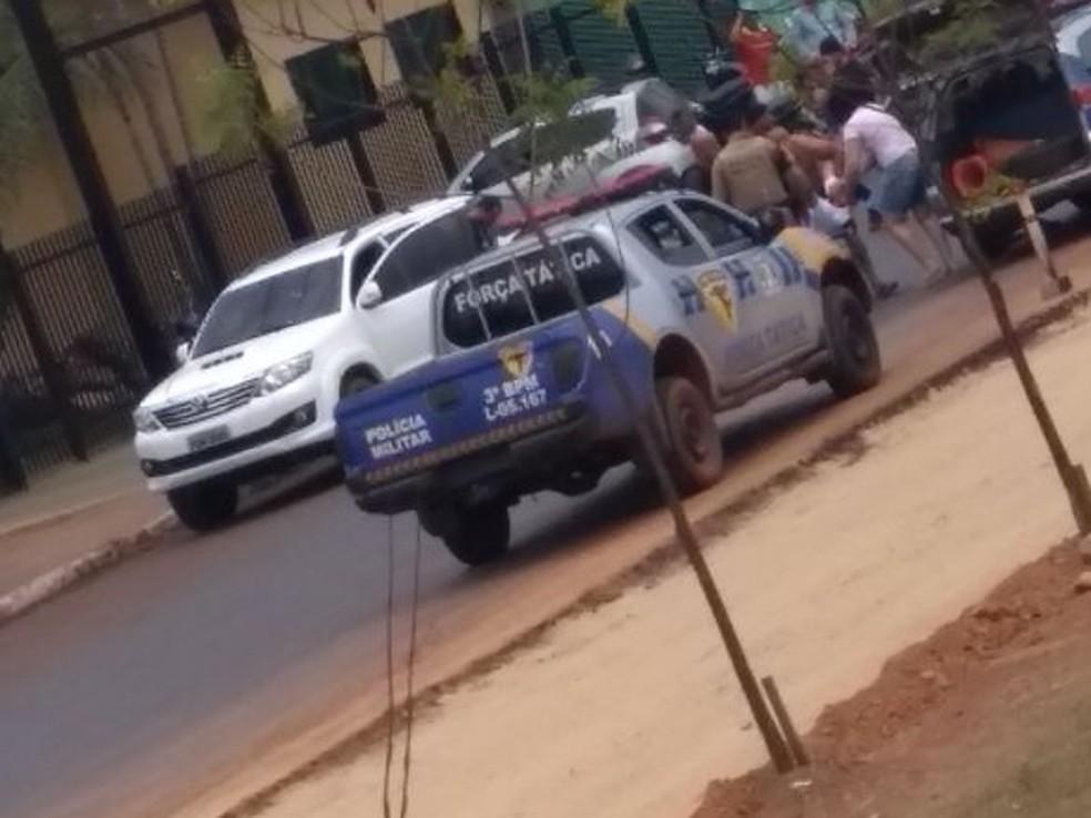Delegado foi baleado por policiais militares em Guaraí (Foto: Divulgação)