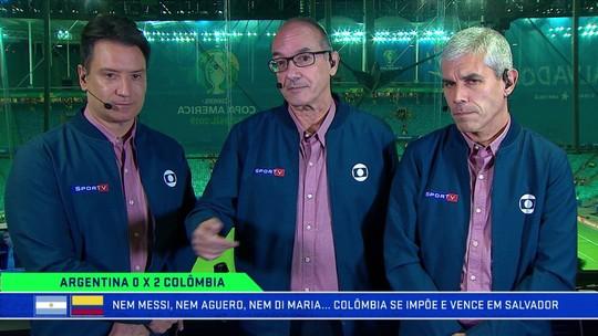 No Troca de Passes, comentaristas analisam vitória da Colômbia sobre a Argentina