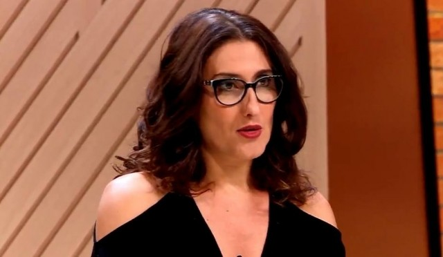 Paola Carosella (Foto: Reprodução/TV Band)