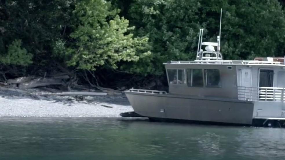 Refúgio fica em uma pequena ilha na costa noroeste dos EUA (Foto: BBC)