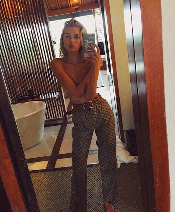 A modelo Elsa Hosk (Foto: Instagram)