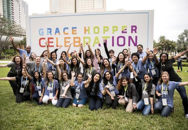 Audiência da Grace Hopper Celebration em 2017 (Foto: Divulgação/Grace Hopper Celebration)
