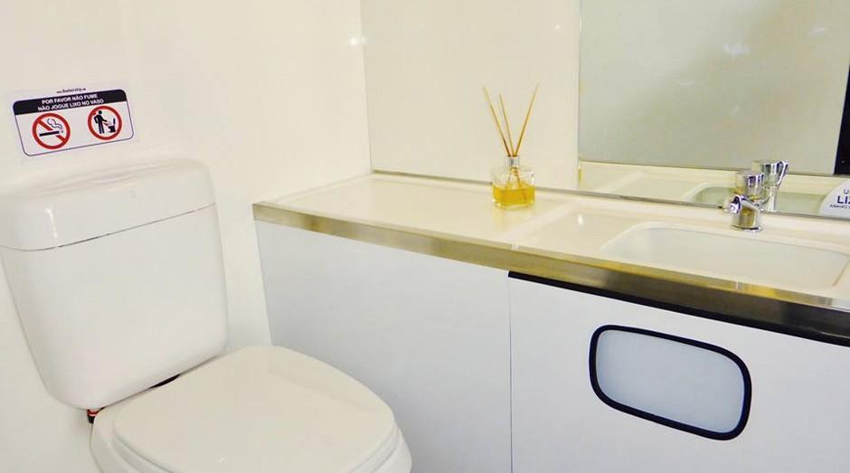 Modelo do Banheiro Vip (Foto: Divulgação)