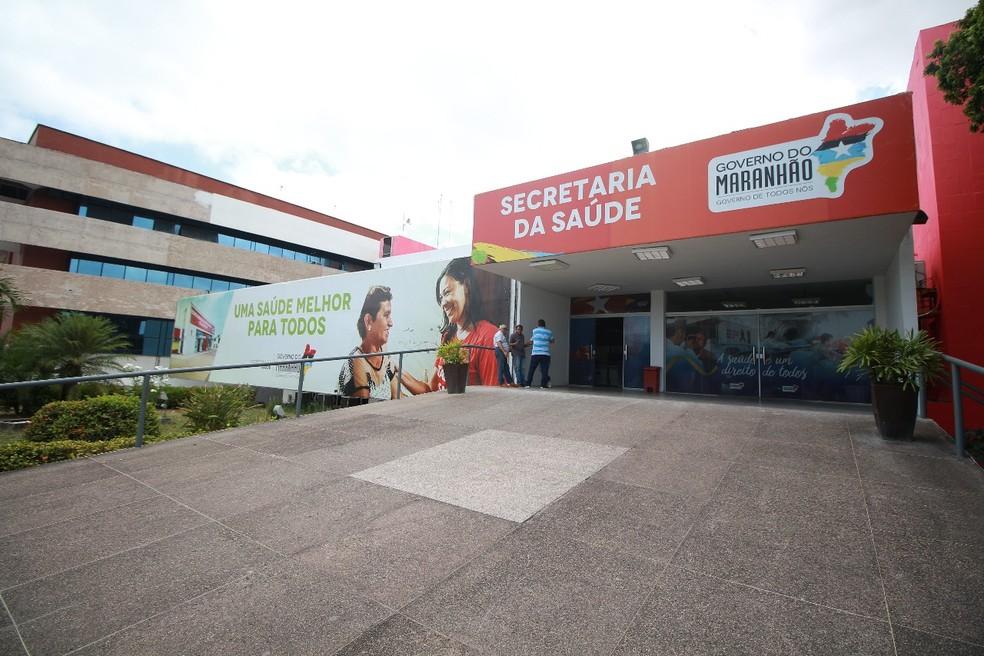 Secretaria de Estado da Saúde (SES) do Maranhão. — Foto: Divulgação/SES