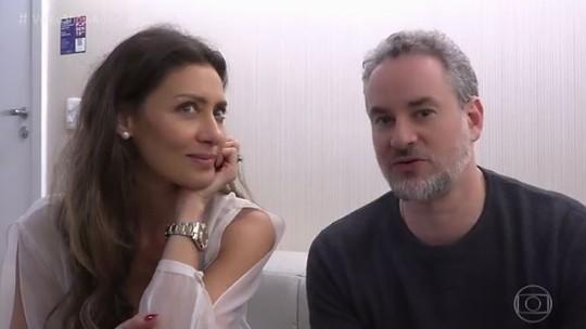Dan Stulbach exalta relação com Maria Fernanda Cândido: 'Carinhosa e de grande admiração'