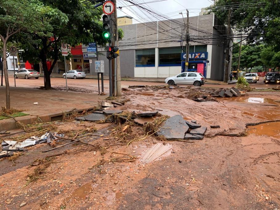 Chuvas em Minas Gerais; FOTOS