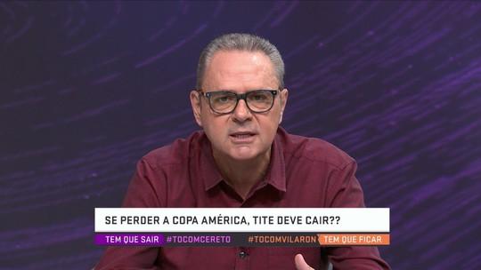 """Luís Roberto defende permanência de Tite e afirma: """"Seleção não tem um craque"""""""