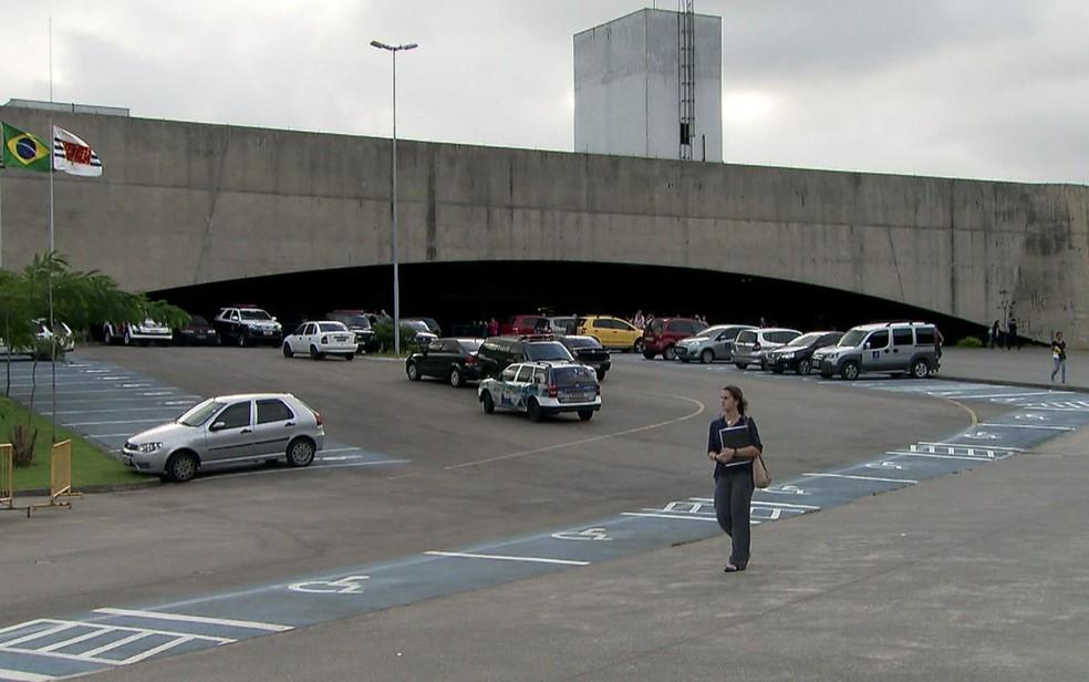 Fórum Criminal da Barra Funda foi inaugurado há 15 anos (Foto: TV Globo/Reprodução)
