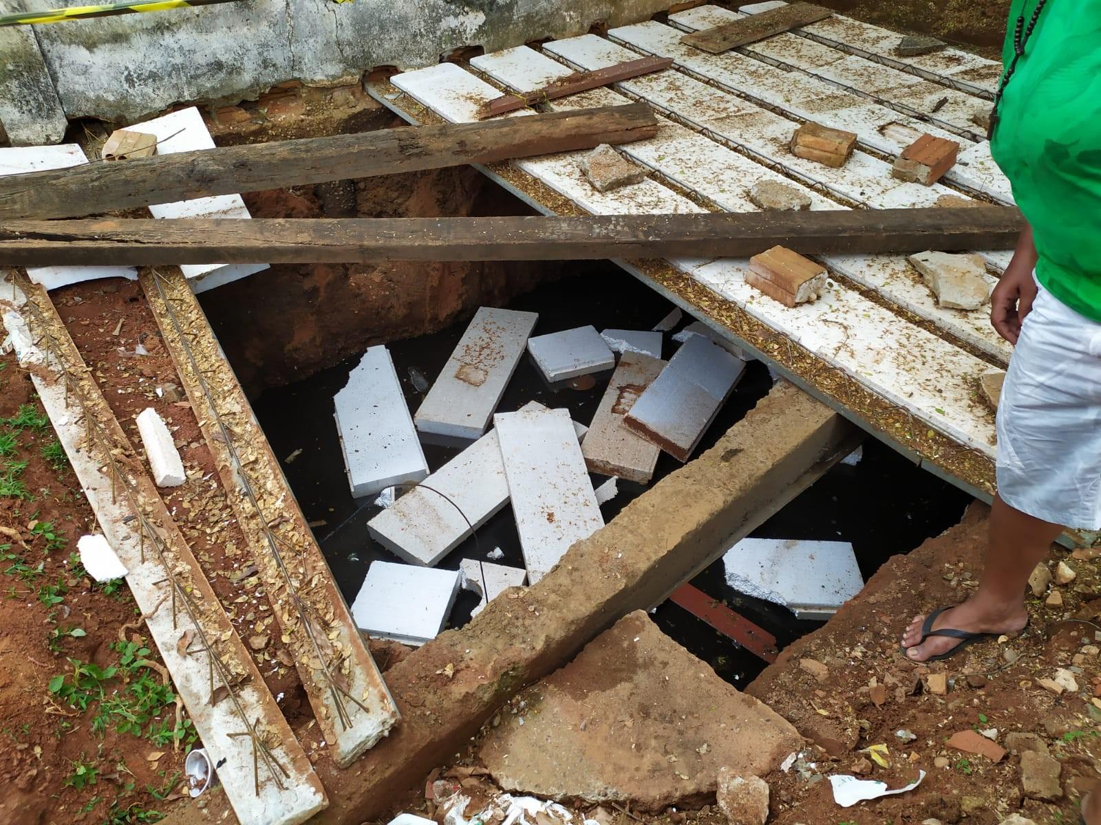 Mulher surda e muda morre ao cair dentro de fossa em Ouro Preto, RO - Notícias - Plantão Diário
