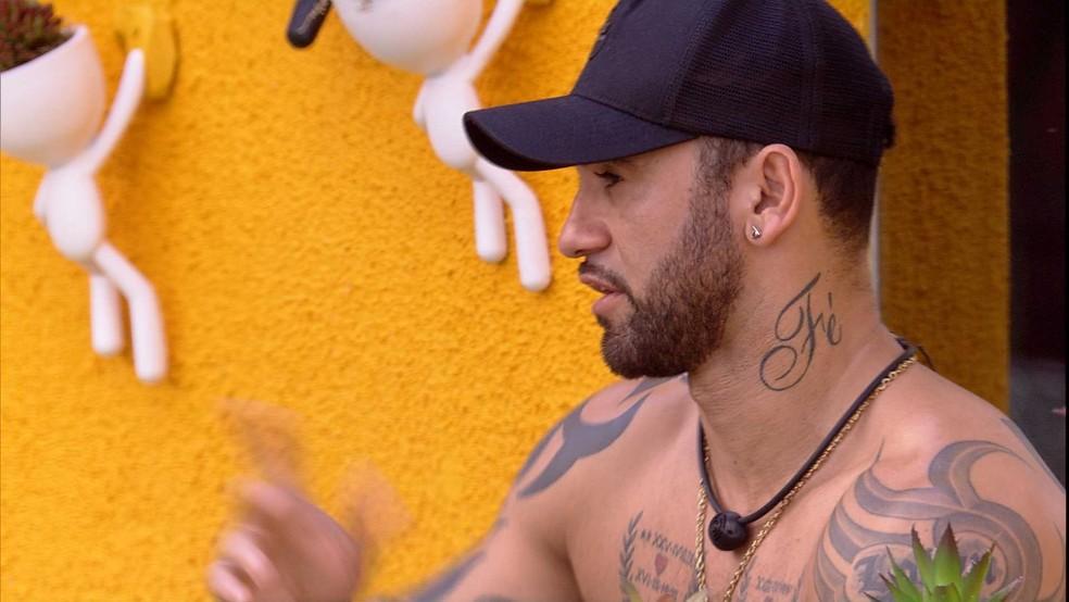 Hadson fala sobre Petrix — Foto: Globo