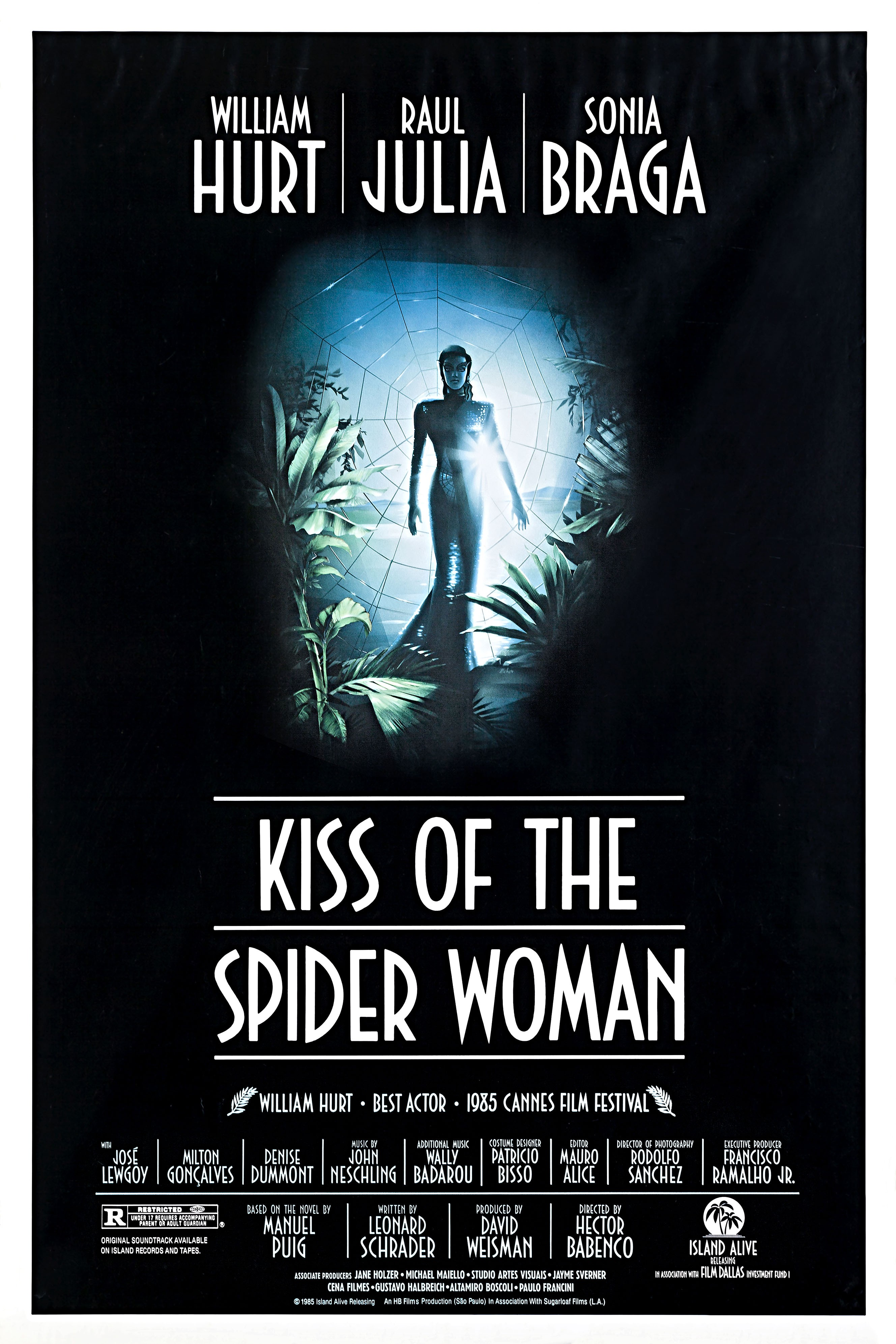 Cartaz do Filme O Beijo da Mulher-Aranha (Foto: Divulgação)