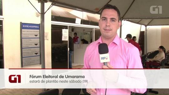 Fórum Eleitoral de Umuarama faz plantão para biometria no sábado