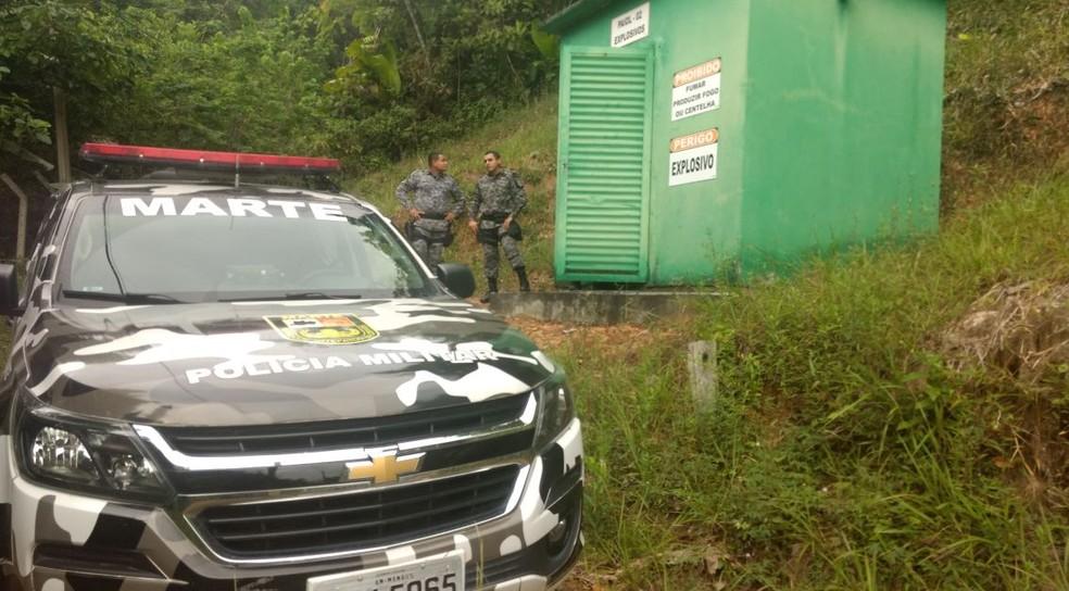 Mais de meia tonelada foram apreendidas durante a operação. (Foto: Divulgação/Exército Brasileiro)