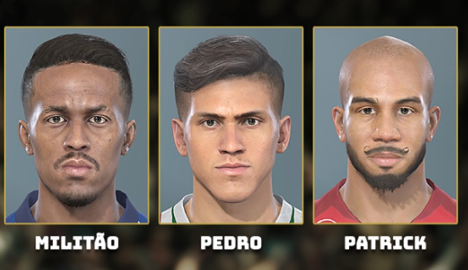Faces e mais faces - eFootball PES 2020