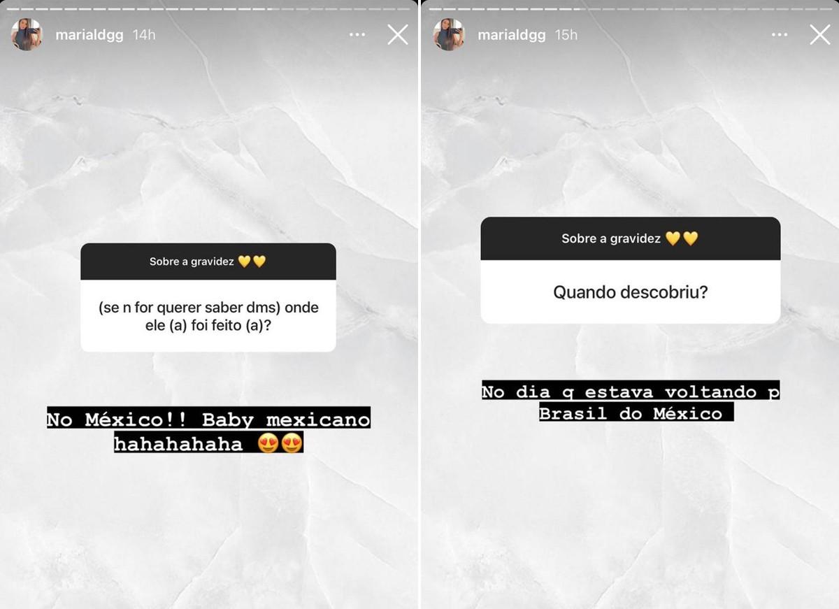 Maria Lina Deggan fala detalhes da gravidez do primeiro filho com Whindersson Nunes (Foto: Reprodução / Instagram)