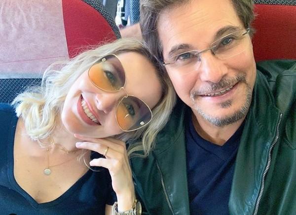 Karin Roepke e Edson Celulari (Foto: Reprodução/ Instagram)