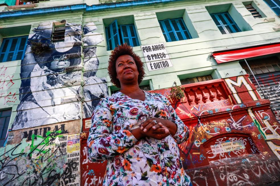 Baiana, Nildes Néri começou sua história em São paulo em 2004, quando veio trabalhar como missionária de uma igreja (Foto: Fábio Tito/G1)