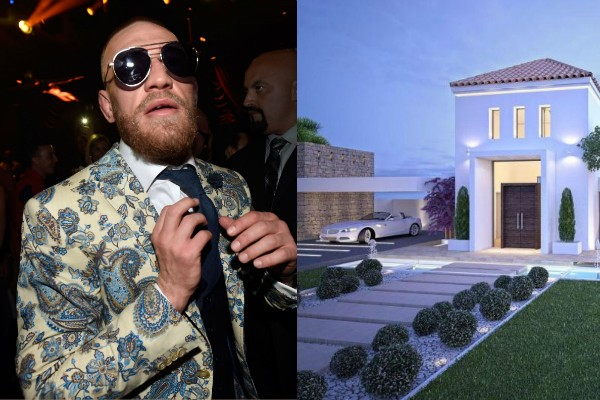 Conor McGregor e sua nova mansão (Foto: Getty Images/Divulgação)
