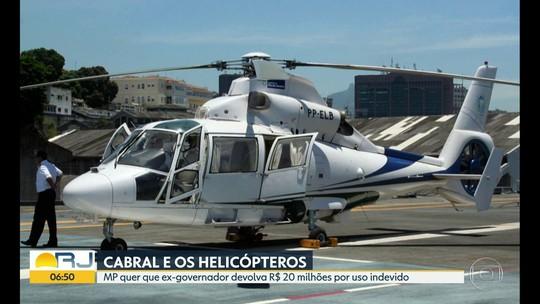 Cabral usava helicóptero do estado para ir a Mangaratiba nas férias dos filhos, diariamente