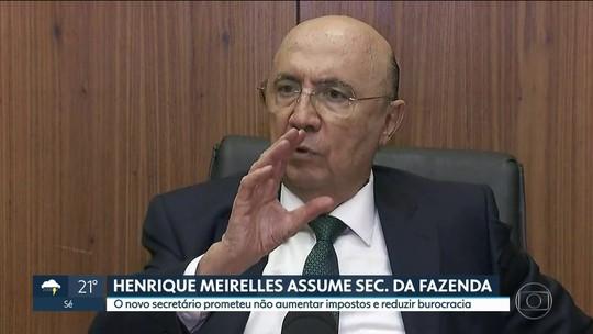 Henrique Meirelles assume Secretaria da Fazenda de SP e promete não aumentar impostos