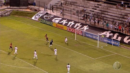 Veja os gols de ABC 1 x 3 Globo e os comentários de Augusto César Gomes