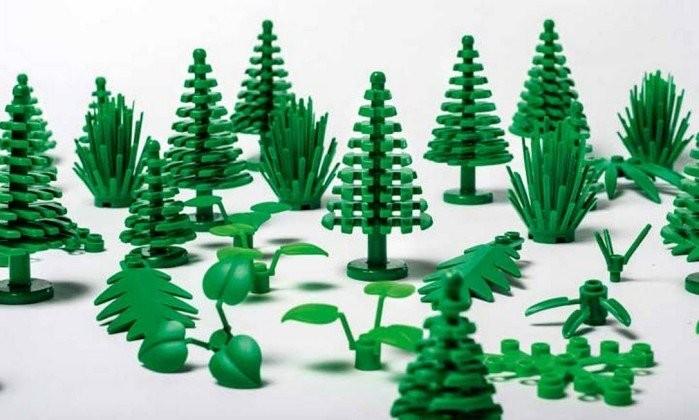 Peças da Lego com plástico sustentável (Foto: Maria Tuxen Hedegaard/Divulgação)