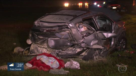 'Ela salvou meu filho', diz marido de passageira que morreu em acidente na Imigrantes