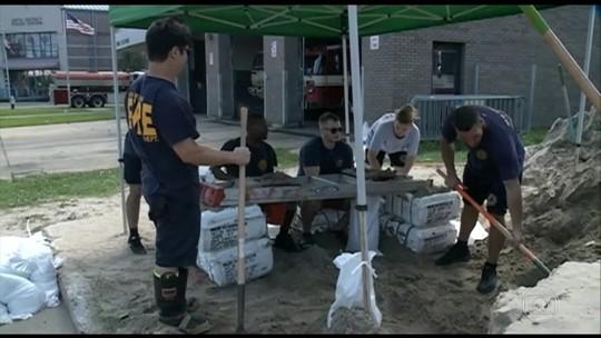 Estados Unidos se preparam para a chegada do furacão Nate