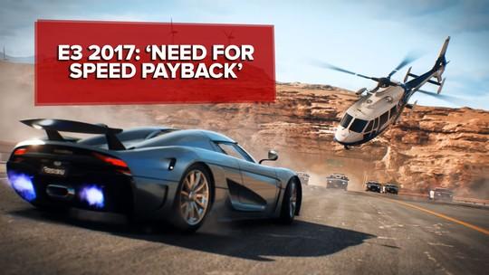 'Need for Speed Payback' traz DNA de 'Velozes e Furiosos' em game de carros com muita ação; G1 jogou