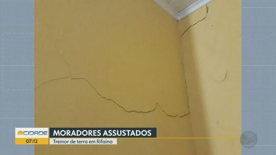 Tremor de terra assusta moradores em Rifaina, no interior de SP