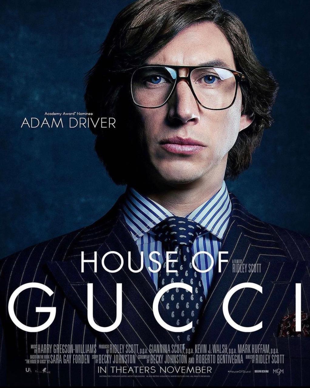 Adam Driver em 'House Of Gucci' (Foto: Instagram/ Reprodução)
